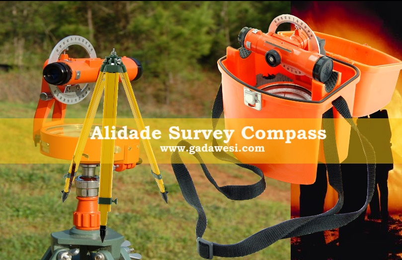 Kompas Alidade surveying Riddick