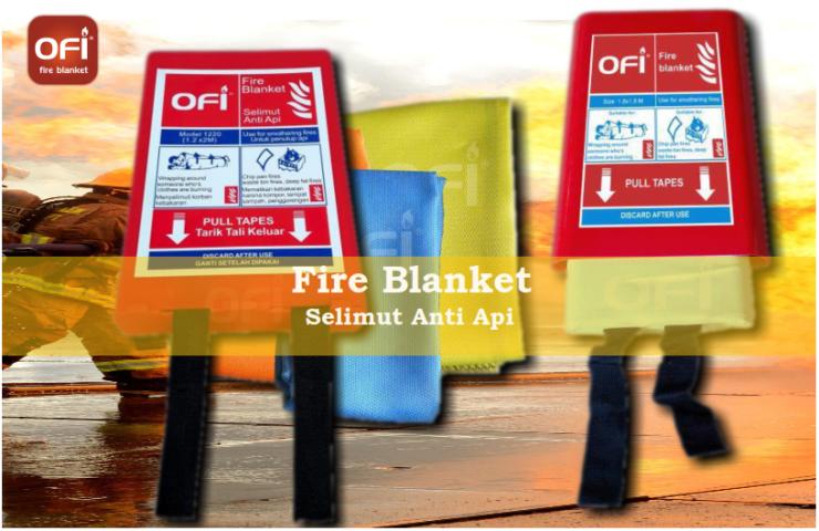 fire blanket (selimut pemadam api)