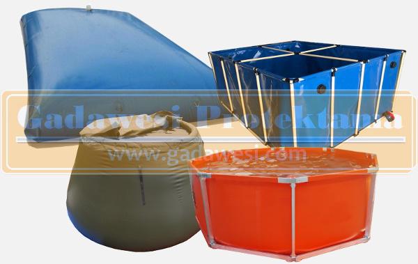 tangki air portable lipat yang fleksibel