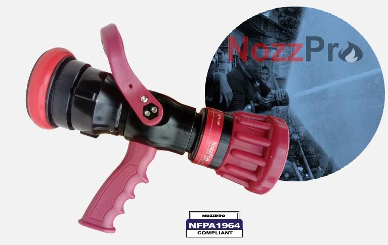 nozzle selang pemadam nozzpro 8411