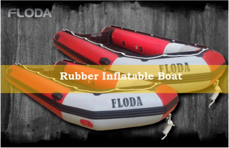 Perahu Rescue Floda Karet