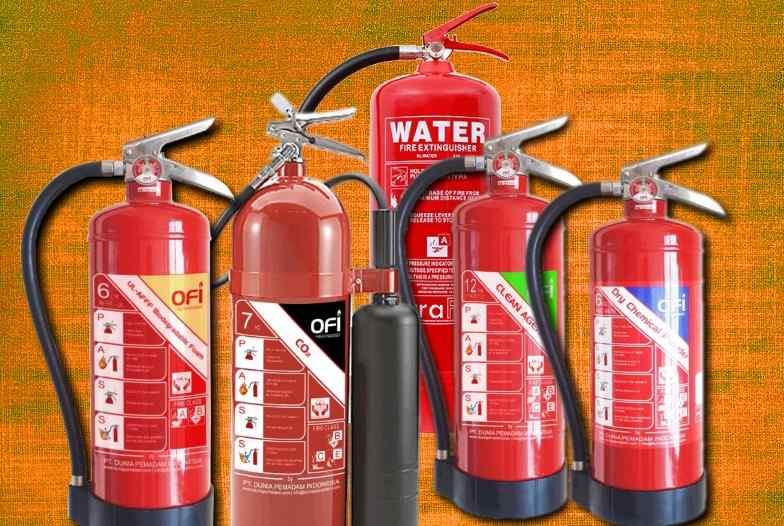jenis apar alat pemadam api ringan portable-types of fire extinguisher