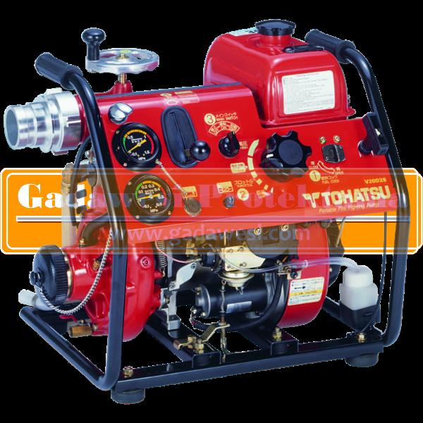 fire pump tohatsu v20d2s