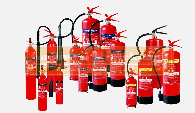 jenis apar pemadam kebakaran