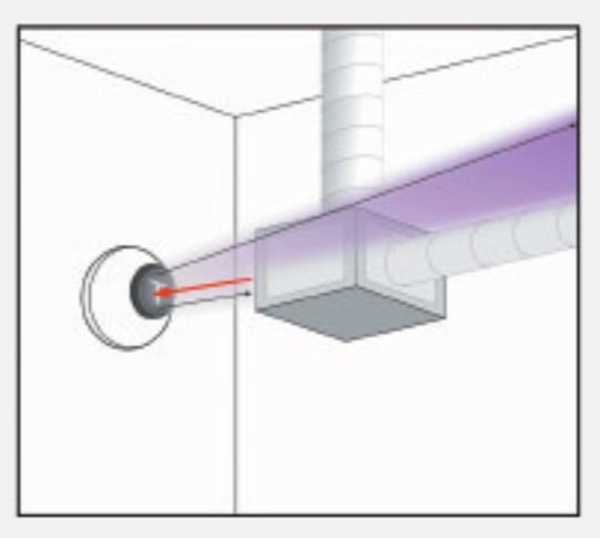 reflective beam detector horing lih